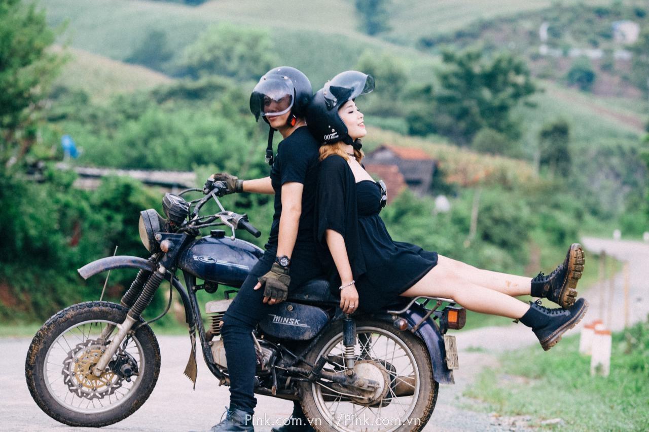 Đam mê những cung đường dài, muốn được thử thách bản thân qua những cuộc hành trình khó đã gắn liền với đời sống của hai bạn.