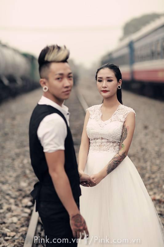 Các bác có muốn một bộ ảnh cưới 'nổi loạn' như thế này không?