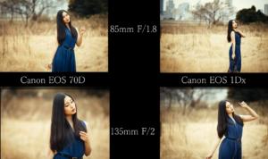 So sánh giữa Crop body và Full frame sensor để có được bức ảnh tuyệt mỹ nhất